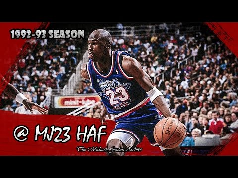 Michael Jordan Highlights (1993 All-Star Game) - 30pts