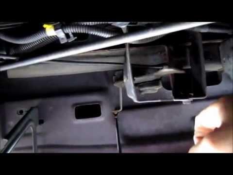 GM Bbody hood release  how to unlatch if broken  YouTube