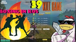 39 Kill game with some boxing NEW MAP