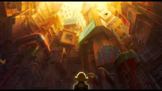 Metropolis (2001) - Tima Rooftop Scene