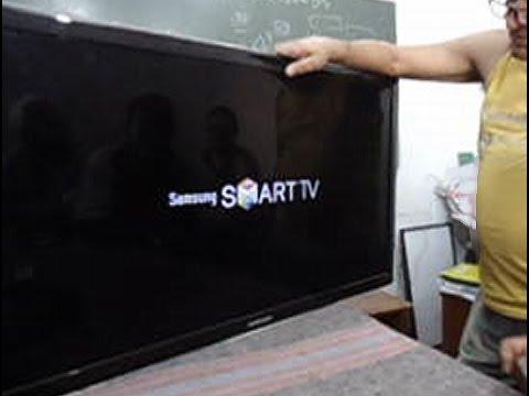 TV Samsung UN40D5500 ligando e desligando sozinha. Como consertar!