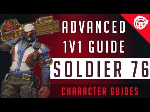 Overwatch Soldier 76 Advanced Guide For 1v1, Duels - How To Win Fights Tips and Tricks OverwatchDojo