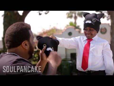 Kid President and Craig Robinson Go Cat Caroling