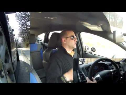 Driving Review - 2013 Ford Focus ST - In Depth Test Drive - Front Wheel Drifting