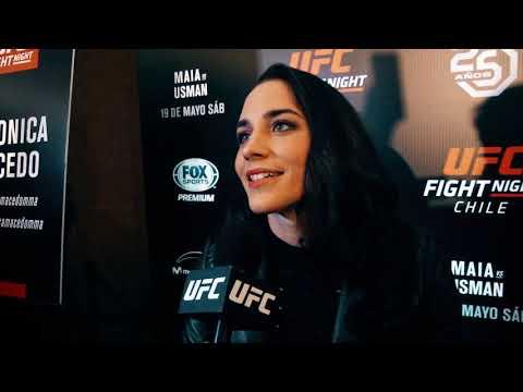 Veronica Macedo en UFC Chile: Nos educamos para pelear