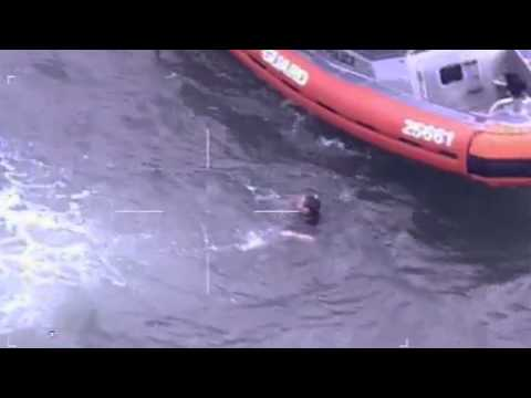 Coast Guard rescues two men from capsized canoe