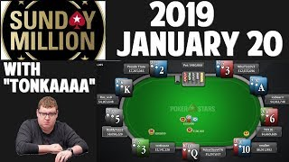 "SUNDAY MILLION | 2019 January 20 with ""TonkaaaaP"""