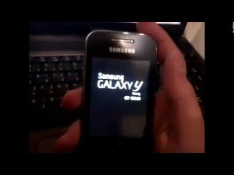 How to Un-Root samsung galaxy y GT-S5360