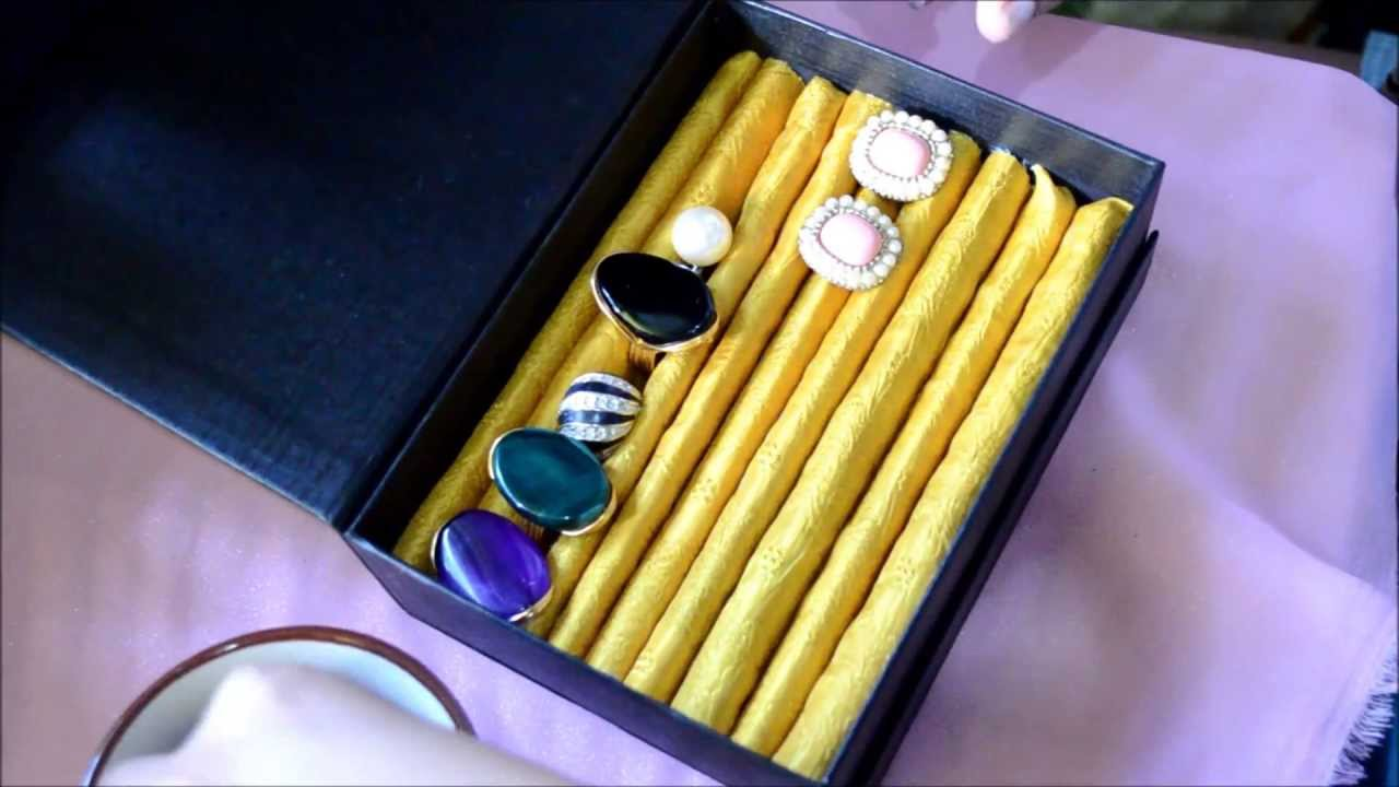 Easy Diy Jewelry Box Stud Earrings And Ring Holder