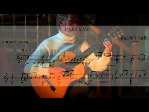 Pavanas-Gaspar Sanz, Two arrangements