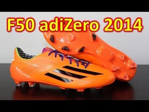 Adidas F50 adizero miCoach 3 2014 Synthetic Solar Zest Samba Pack - Unboxing + On Feet