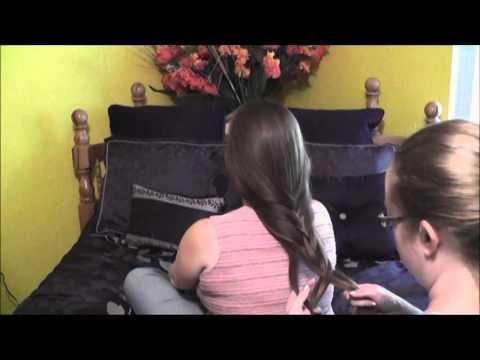 ASMR - Gentle Hair Play Head Massage (Soft Spoken)