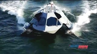Juliet Marine - Supercavitating Very High Speed Stealth Surface Vessel Sea Trials [480p]