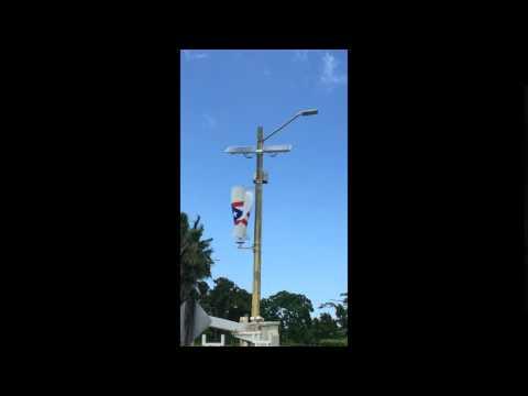 New Hope USA   Puerto Rico Hybrid street light retro fit