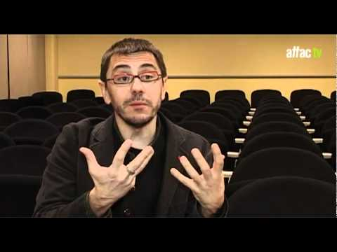 Juan Carlos Monedero - El gobierno de las palabras / The Government of Words
