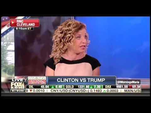 Debbie Wasserman Schultz claims Hillary Clinton didn't lie to Congress about her emails