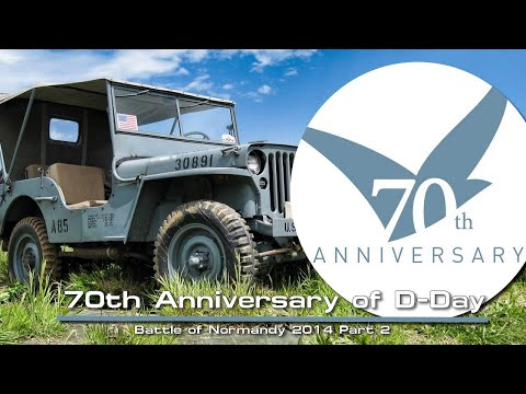 70th Anniversary of D-Day Arromanches 2014 Part 2