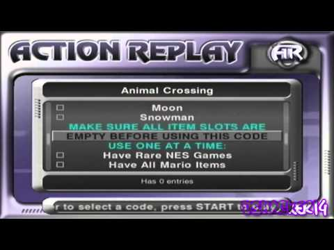 Action Replay Gamecube App Tutorial for Wii (Cheat on any GC game)