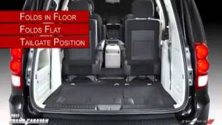 2011 Dodge Grand Caravan  Stow n Go Seating