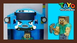 Tayo and minecraft boy! l Tayo Rangers #3 l Tayo the Little Bus
