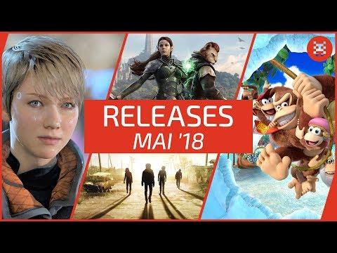 NEUE SPIELE im MAI 2018 für PS4, Xbox One, PC, Nintendo Switch & 3DS
