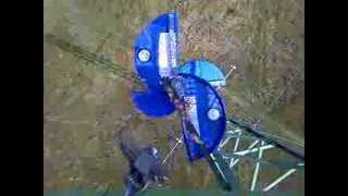 DIY Savonius wind turbine generator 1