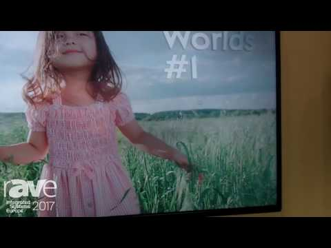 ISE 2017: Dimenco Launches 8k No Glasses 3D Display