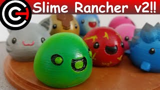 3D Printed Slimes [Slime Rancher] - Boom, Phosphor, Rad & Honey!
