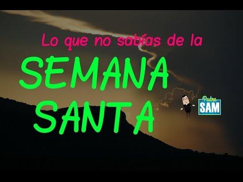 TODO LO QUE DEBES SABER DE LA SEMANA SANTA | Sacerdote católico explica