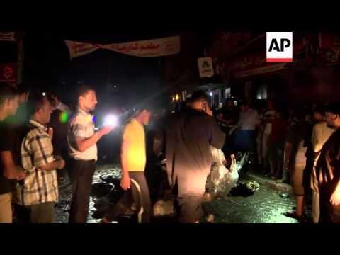 Israeli airstrike kills Hamas member in car, injures 11 others