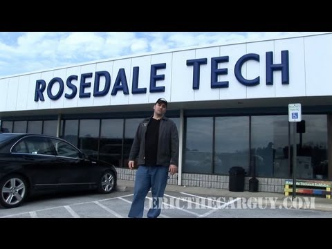 ETCG visits Rosedale Technical Institute - EricTheCarGuy