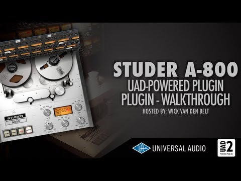 UAD - Studer A800 Plugin Explained (Complete walkthrough)