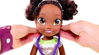 Disney Toddler Tiana from Princess and the Frog - Baby Doll Toy Review