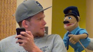 Talking Puppets in the Library