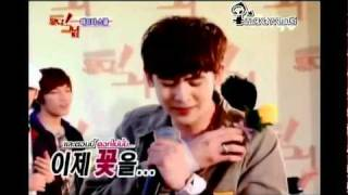 Idol show season 3  nickhun cut