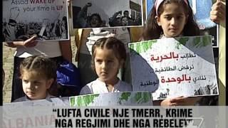 Lufta ne sytë e një sirianeje - News, Lajme - Vizion Plus