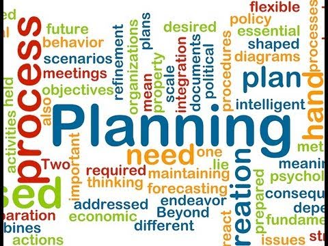 Business English Vocabulary - VV 20 The Planning Process 1