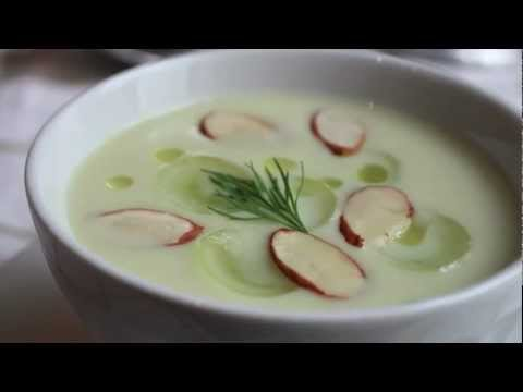 White Gazpacho Recipe - Chilled Summer Vegetable Soup