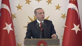 Erdoğan: ''Bakanlarımızı Konsolosluklarına Almayanlar Bize Diplomasiden, Demokrasiden Bahsedemez''