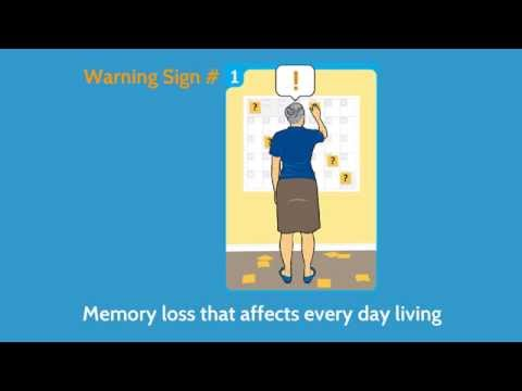 10 Warning Signs of Alzheimer's Disease - AlzheimerWindsor.com