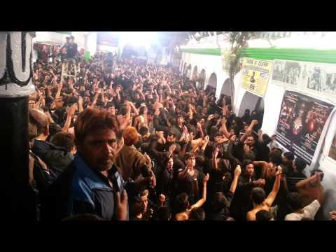 Aama Bas Ek Raat Ka Maheman Hai Hussain, Mir Saber Ali Zawar video