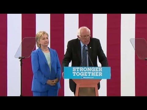 Bernie Sanders: Election must bring people together