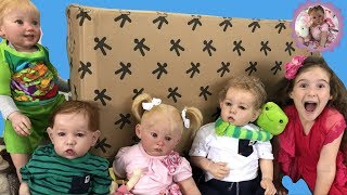 *GIANT SURPRISE BOX OPENING FOR REBORN TODDLERS!*