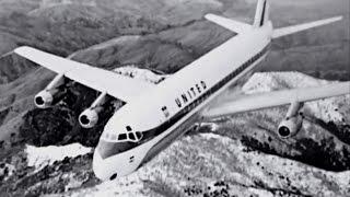 "United Douglas DC-8-12 - ""New York to San Francisco"" - 1961"