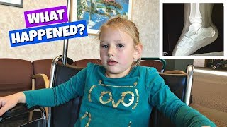 WHAT HAPPENED AT SCHOOL GETTING AN XRAY VLOG