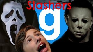 I'm going to get you! | Gmod Slashers game mode - with friends