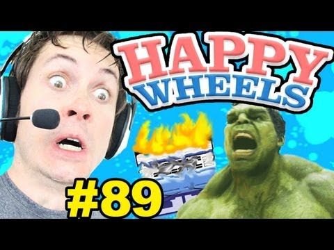 Happy Wheels - HULK SMASH