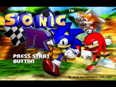 Let s Play Sonic R - Playthrough