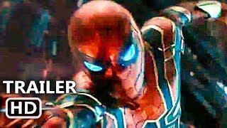 "AVENGERS: INFINITY WAR ""Spiderman Iron Suit"" Trailer (2018) Iron Spider Movie HD"