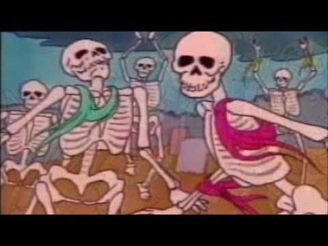 Danse Macabre Camille Saint-Sans 1980s cartoon, PBS, Halloween, Music Music Videos